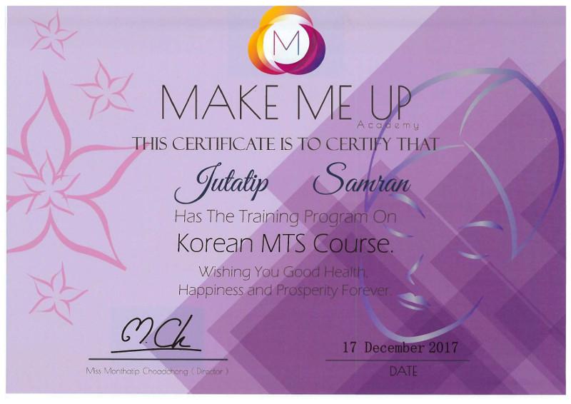 Korean MTS Course